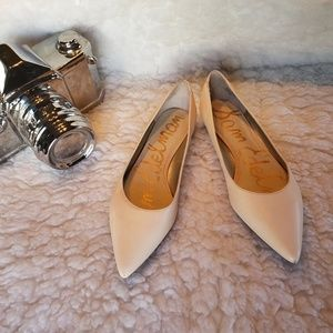 Sam Edelman nude pointy toe flats-mininal wear 8.5